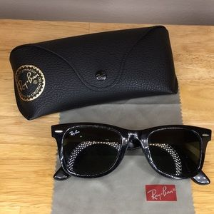 Ray-Ban WAYFARER Classic RB2140 Green/Black